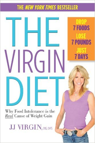 The JJ Virgin Diet Cook Book.  Here we give a brief review of just how useful or not this book may be if you decided to follow the 7 foods 7 pounds in 7 days diet hype.