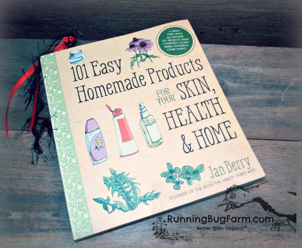 An organic farmers review of 101 Easy Homemade Products for your Skin, Health and Home.