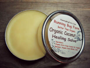 Make your own organic coconut healing salve with our easy DIY instructions.