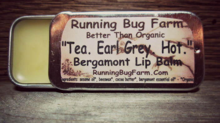 Tea.  Earl Grey.  Hot.  Engage your lips in our amazing DIY Organic lip balm recipe.