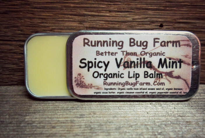Are you tired of all the strange sounding ingredients in your lip products?  Do you want something that actually works & only used real natural non gmo organic ingredients?  Our Spicy Vanilla Mint Lip Balm is the best of everything.  We provide you with simple but clear instructions on how to make your very own healthy healing lip balms at home.
