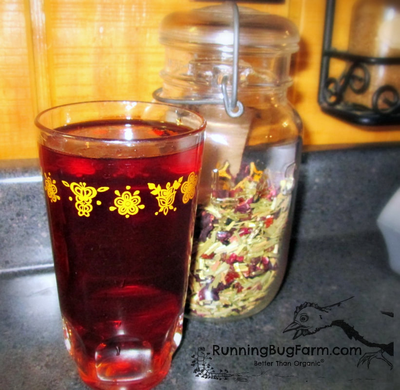 Learn how to make your own vitamin C rich herbal tea using organic herbs.