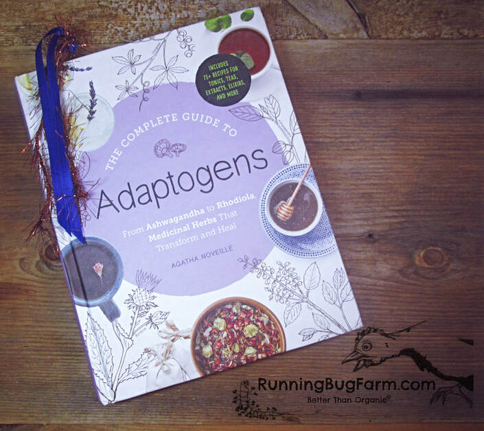 Are you curious about adaptogenic herbs?  While this book is not complete, it does offer many recipes for using adaptogens, as well as provide you with a basic understanding of their uses and safety.
