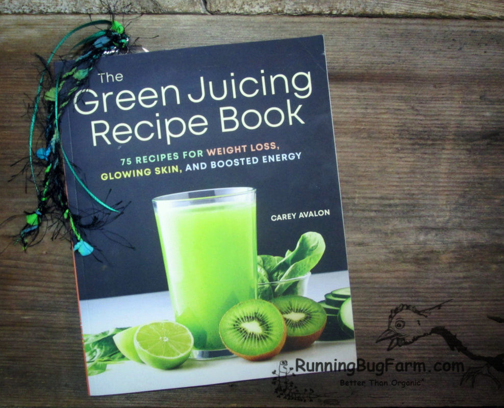 My take on 'The Green Juicing Recipe Book' as an eco farmer with Endo, I understand the importance of healthy juices to get through the day.